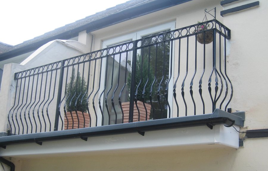 balconies art deco steel makers