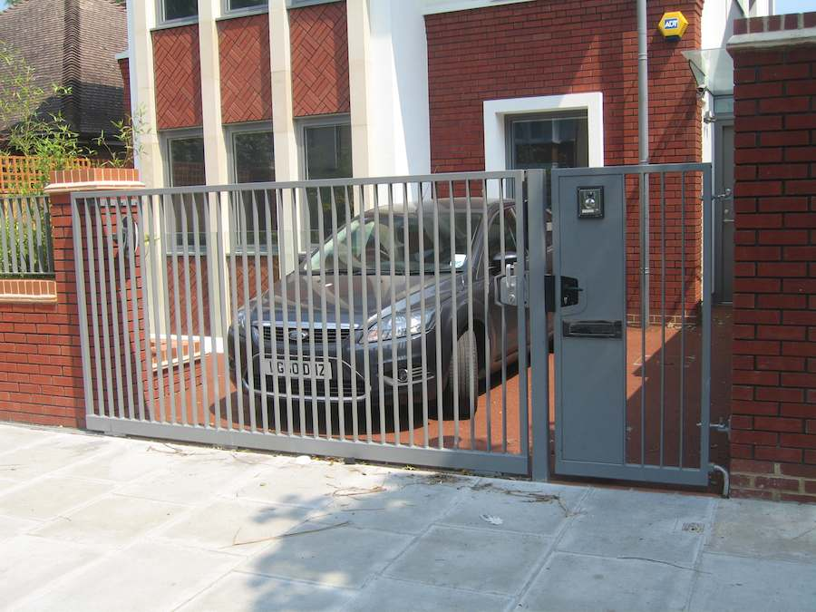 Security Gates London_Driveway Gates_Metal Gates